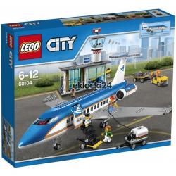 LEGO CITY 60104 LOTNISKO TERMINAL PASAŻERSKI