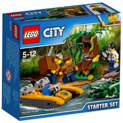 LEGO CITY 60157 DŻUNGLA ZESTAW STARTOWY