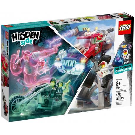 LEGO® HIDDEN SIDE 70421 SAMOCHÓD KASKADERSKI EL FUEGO