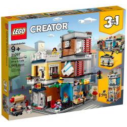 LEGO® CREATOR 31097 Sklep zoologiczny i kawiarenka