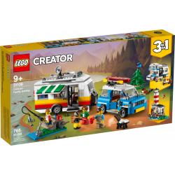 LEGO® CREATOR 31108 Wakacyjny kemping z rodziną