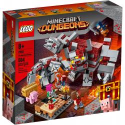 LEGO® MINECRAFT 21163 BITWA O CZERWONY KAMIEŃ