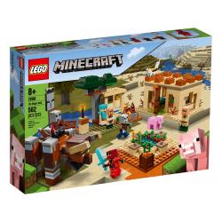 LEGO® MINECRAFT 21160 NAJAZD ZŁOSADNIKÓW