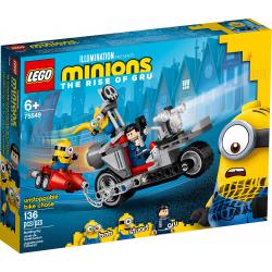 LEGO® MINIONS 75549 Niepowstrzymany motocykl ucieka