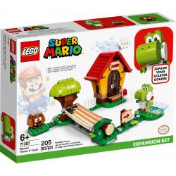 LEGO® SUPER MARIO 71367 Yoshi i dom Mario - zestaw rozszerzający