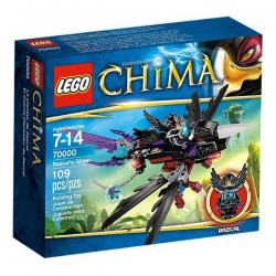 LEGO CHIMA 70000 + 30254  Szybowiec Razcala oraz Pojazd Razcala