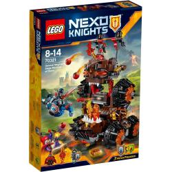 LEGO NEXO KNIGHTS 70321 MACHINA OBLĘŻNICZA GENERAŁA MAGMARA