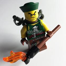 LEGO NINJAGO 853544 PODNIEBNY PIRAT