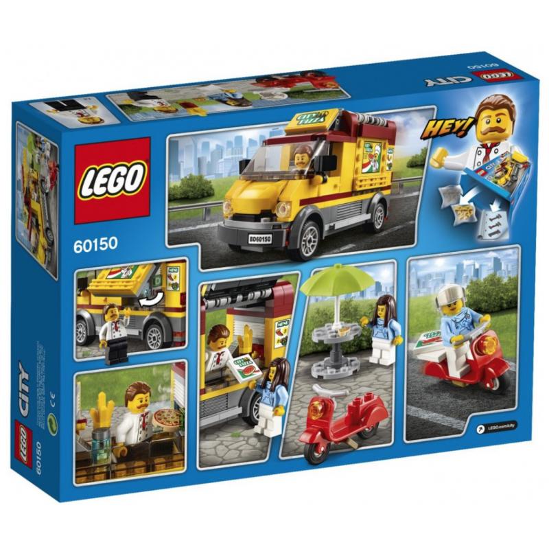 Lego City 60150 Foodtruck Z Pizza Klocki Lego