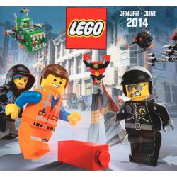 LEGO KATALOG 2014 STY-CZERW