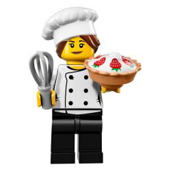 LEGO MINIFIGURKI 71018-3 WYŚMIENITY SZEF KUCHNI