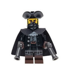 LEGO MINIFIGURKI 71018-16 ROZBÓJNIK
