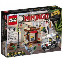 LEGO NINJAGO MOVIE 70607 POŚCIG
