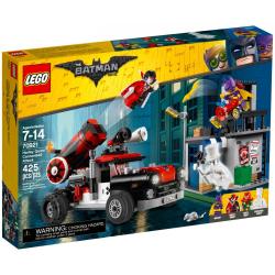 LEGO BATMAN MOVIE 70921 ARMATA HARLEY QUINN