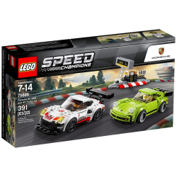 LEGO SPEED CHAMPIONS 75888 PORSCHE 911 RSR & 911 TURBO 3.0