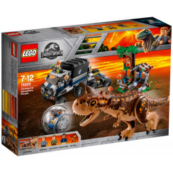 LEGO JURASSIC WORLD 75929 UCIECZKA CARNOTAURUS GYROSPHERE