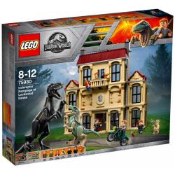 LEGO JURASSIC WORLD 75930 SZAŁ INDORAPTORA W POSIADŁOŚCI LOCKWOODÓW