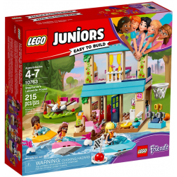 LEGO JUNIORS 10763 DOMEK NAD JEZIOREM STEPHANIE