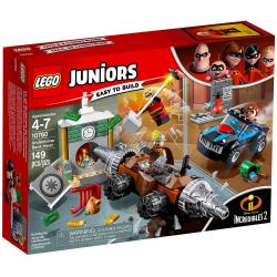 LEGO JUNIORS 10760 NAPAD CZŁOWIEKA SZPADLA NA BANK