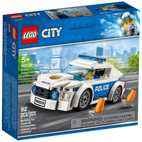 LEGO CITY 60239 SAMOCHÓD POLICYJNY
