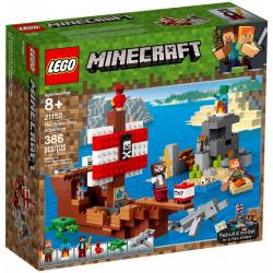 LEGO MINECRAFT 21152 Statku pirackim