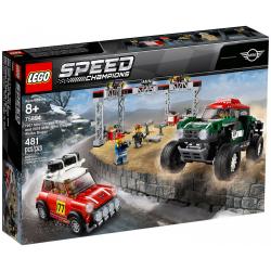 LEGO SPEED CHAMPIONS 75894 1967 MINI COOPER S RALLY ORAZ 2018 MINI JOHN COOPER WORKS BUGGY