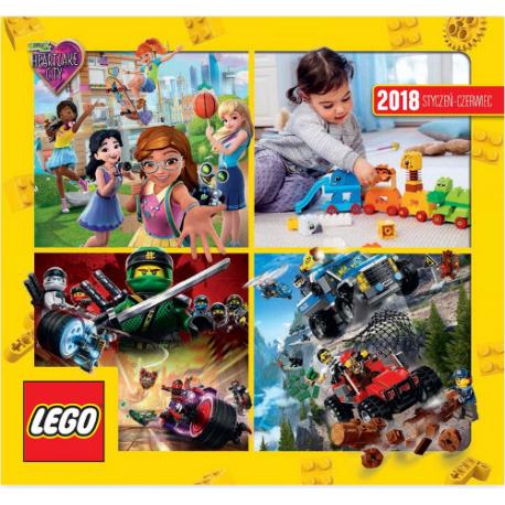 LEGO KATALOG PL 2018 STY-CZERW