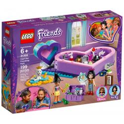 LEGO® FRIENDS 41359 PUDEŁKO W KSZTAŁCIE SERCA – ZESTAW PRZYJAŹNI