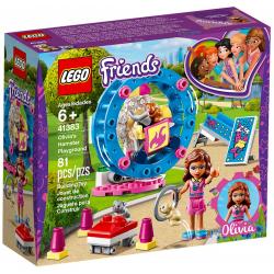 LEGO® FRIENDS 41383 PLAC ZABAW DLA CHOMIKÓW OLIVII